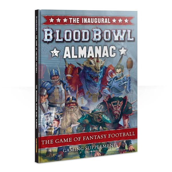 BLOOD BOWL THE INAUGURAL BLOOD BOWL ALMANAC DHC