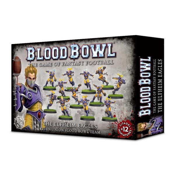 BLOOD BOWL THE ELFHEIM EAGLES TEAM