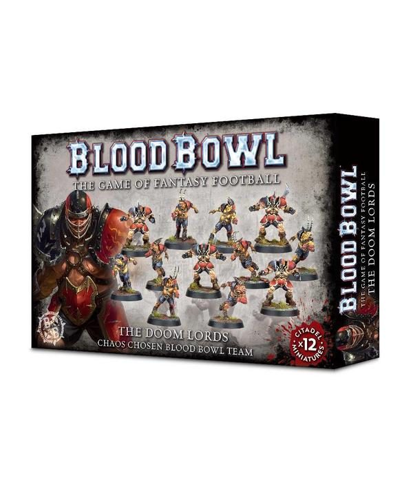 BLOOD BOWL THE DOOM LORDS DHC