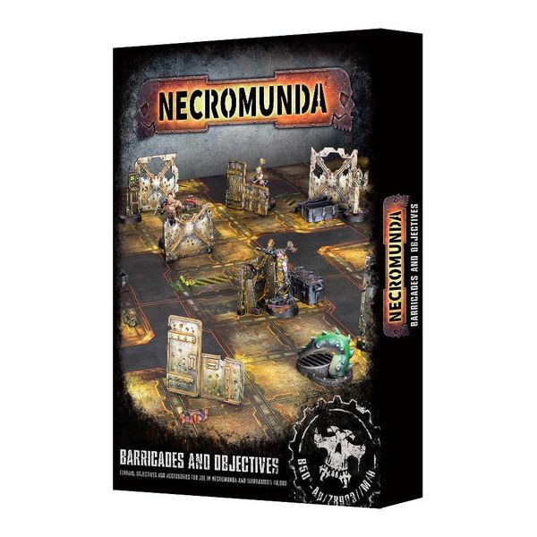 NECROMUNDA BARRICADES AND OBJECTIVES DHC