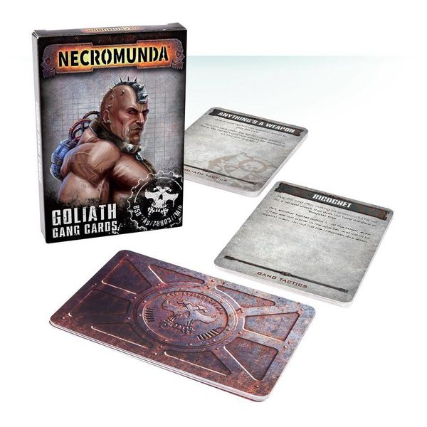 NECROMUNDA GOLIATH GANG CARDS DHC