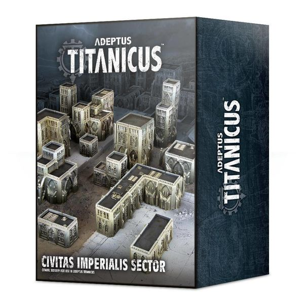 ADEPTUS TITANICUS CIVITAS IMPERIALIS SECTOR (Additional S&H Fee Applies) DHC