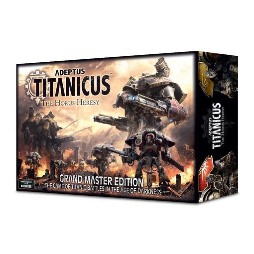 ADEPTUS TITANICUS GRAND MASTER EDITION (Additional S&H Fee Applies)