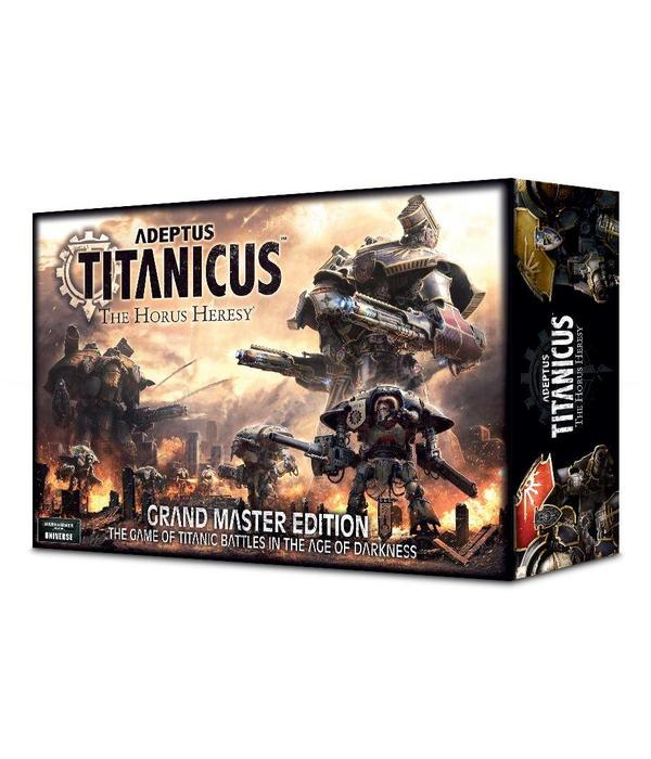 ADEPTUS TITANICUS GRAND MASTER EDITION (Additional S&H Fee Applies) DHC