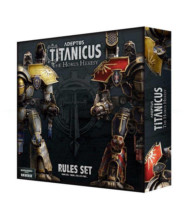 ADEPTUS TITANICUS RULES SET SPECIAL ORDER