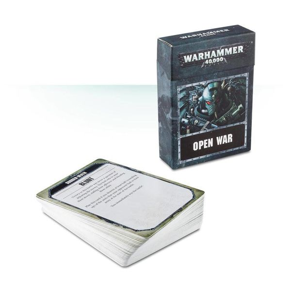 WARHAMMER 40000 OPEN WAR CARDS DHC