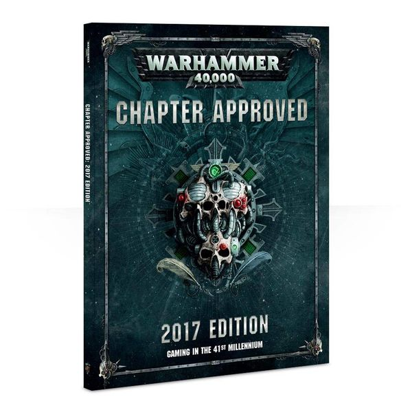WARHAMMER 40K CHAPTER APPROVED 2017 DHC