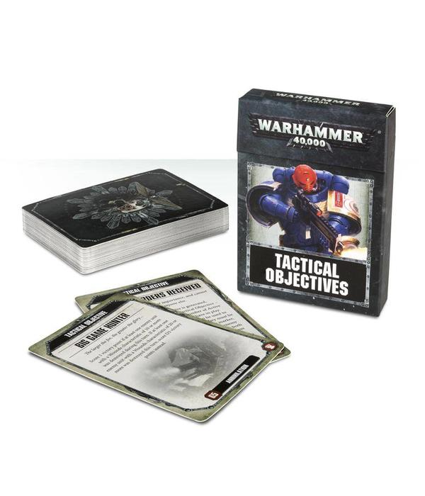 WARHAMMER 40K TACTICAL OBJECTIVE CARDS