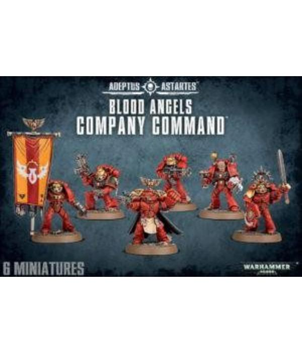 BLOOD ANGELS COMPANY COMMAND DHC