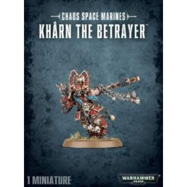 CHAOS SPACE MARINES KHARN THE BETRAYER DHC