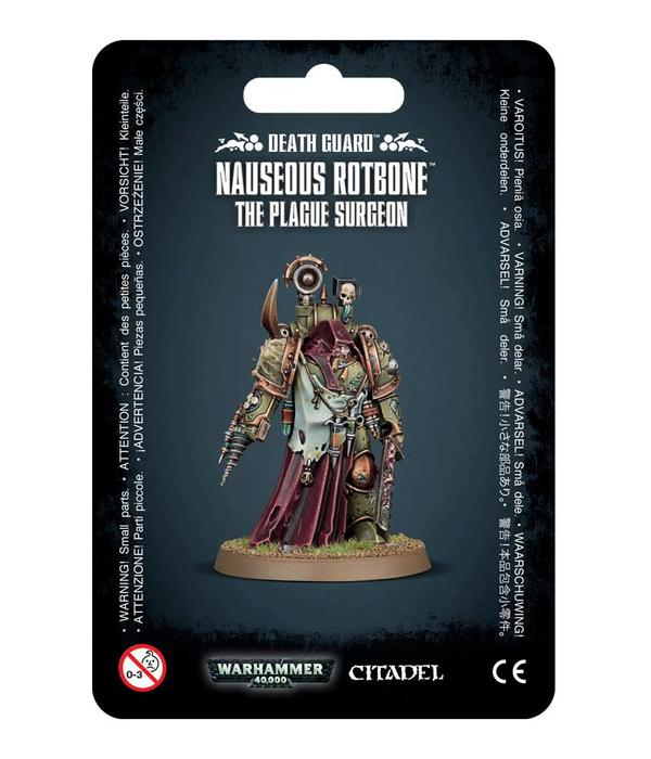 DEATH GUARD NAUSEOUS ROTBONE DHC