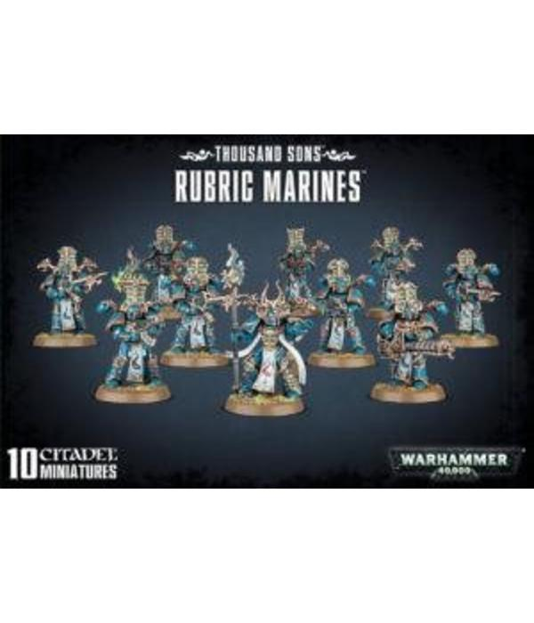 THOUSAND SONS RUBRIC MARINES DHC