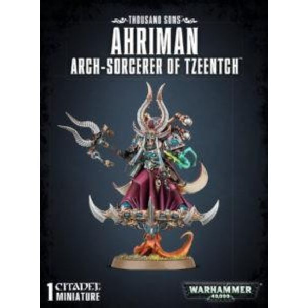 THOUSAND SONS AHRIMAN ARCH SORCERER OF TZEENTCH DHC