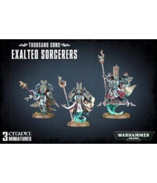THOUSAND SONS EXALTED SORCERERS DHC