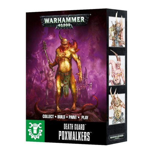 DEATH GUARD EASY TO BUILD ETB DEATH GUARD POXWALKERS DHC