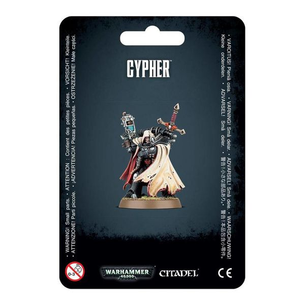 SPACE MARINES CYPHER DHC
