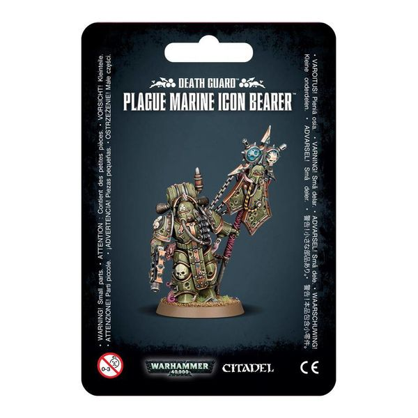 DEATH GUARD PLAGUE MARINE ICON BEARER DHC