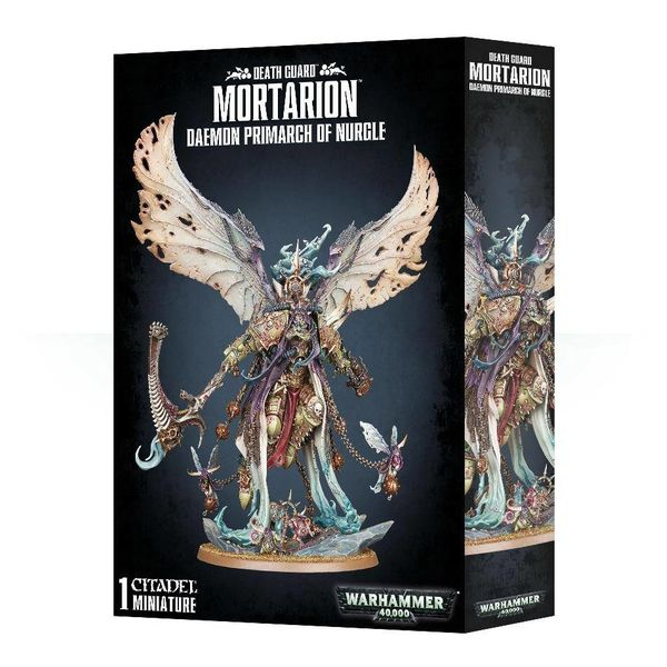 DEATH GUARD MORTARION DAEMON PRIMARCH OF NURGLE DHC