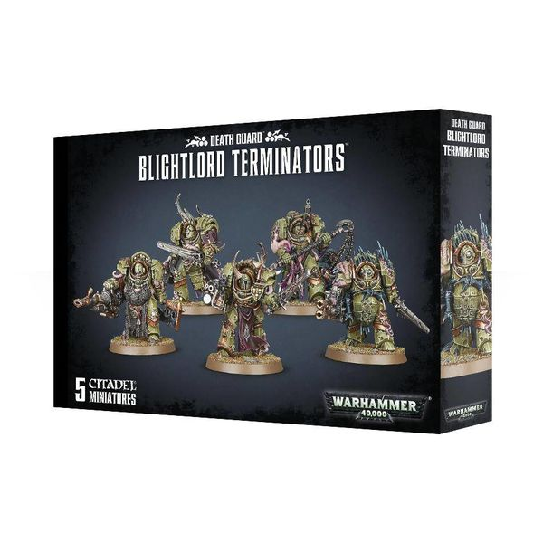 DEATH GUARD BLIGHTLORD TERMINATORS DHC