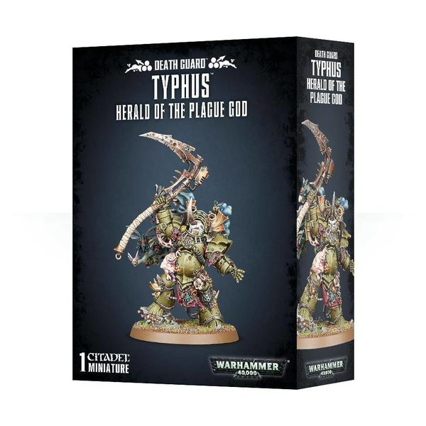 DEATH GUARD TYPHUS HERALD OF THE PLAGUE GOD DHC