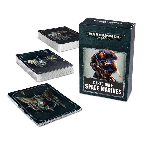 DATACARDS SPACE MARINES DHC