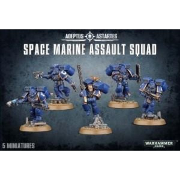 SPACE MARINE ASSAULT SQUAD DHC
