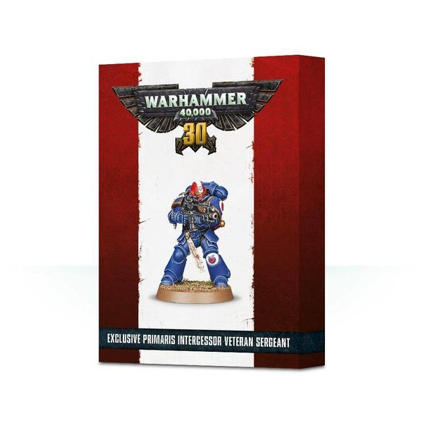 SPACE MARINE 30 YRS OF 40K PRIMARIS VETERAN SERGEANT DHC
