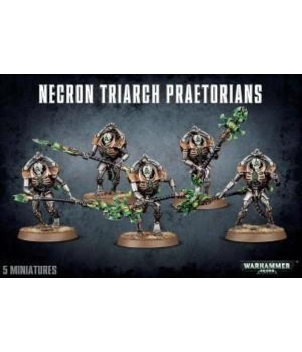 NECRON TRIARCH PRAETORIANS DHC
