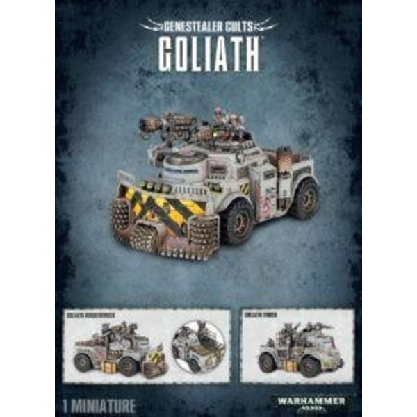 GENESTEALER CULTS GOLIATH / ROCKGRINDER DHC