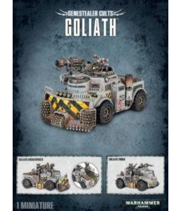 GENESTEALER CULTS GOLIATH / ROCKGRINDER DHC
