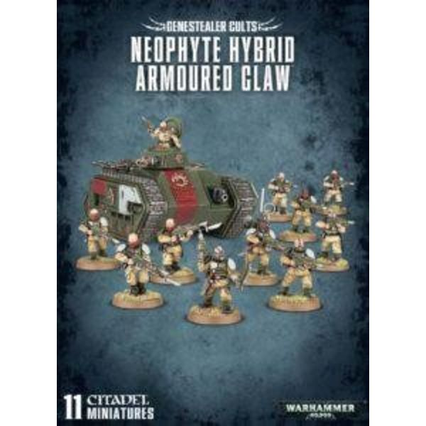 GENESTEALER CULTS NEOPHYTE HYBRID ARMOURED CLAW DHC