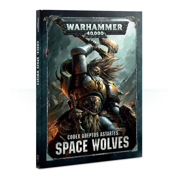CODEX SPACE WOLVES 2018 DHC
