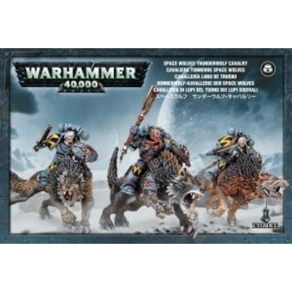 SPACE WOLVES THUNDERWOLF CAVALRY DHC