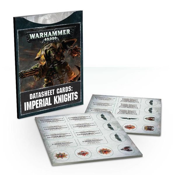 DATASHEET CARDS IMPERIAL KNIGHTS