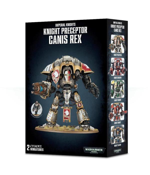 IMPERIAL KNIGHTS PRECEPTOR CANIS REX / WARDEN / GALLANT / PALADIN / CRUSADER / ERRANT