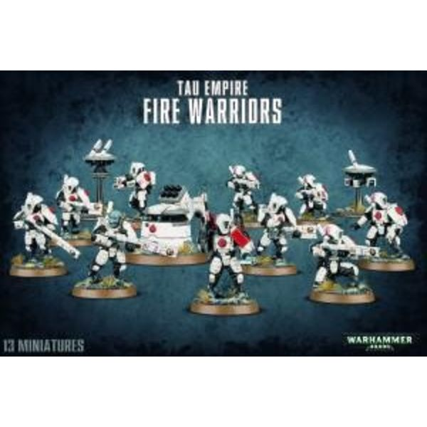 TAU EMPIRE FIRE WARRIORS DHC