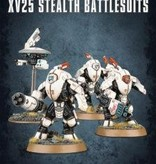 TAU EMPIRE XV25 STEALTH BATTLESUITS DHC