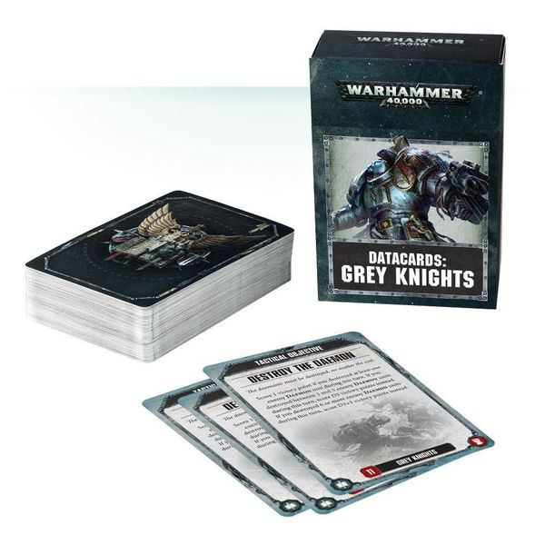 DATACARDS GREY KNIGHTS DHC