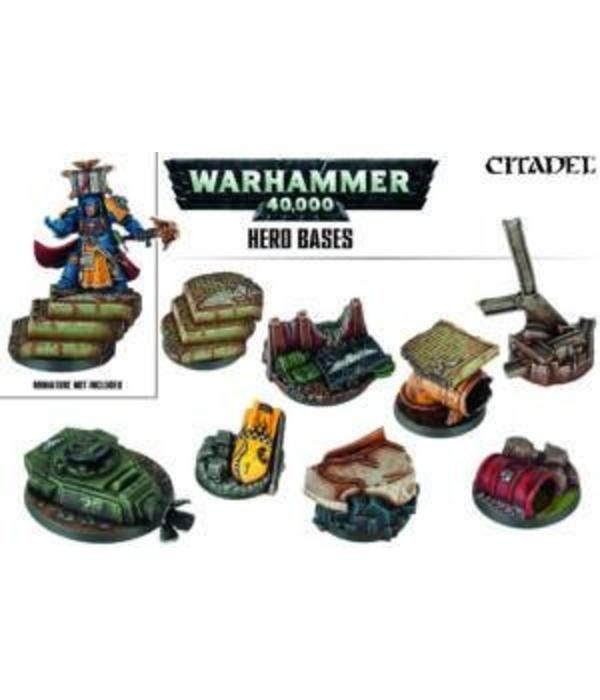 WARHAMMER 40000 HERO BASES
