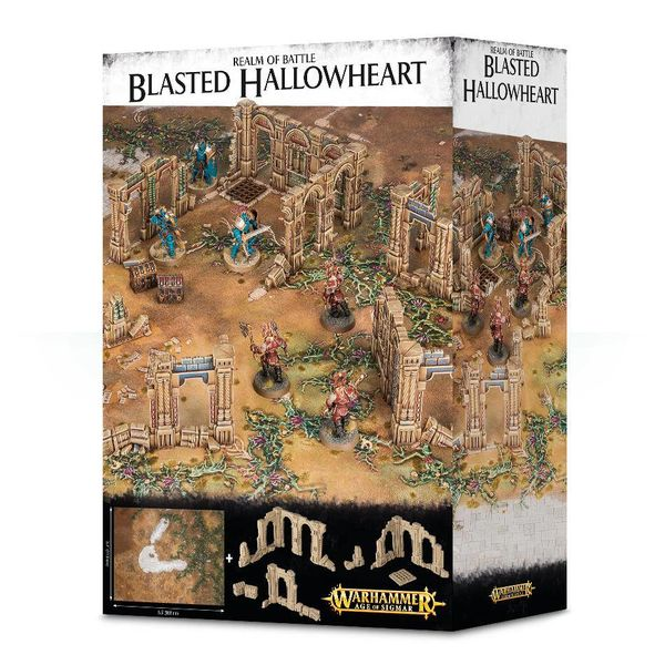 REALM OF BATTLE BLASTED HALLOWHEART (Additional S&H Fee Applies)