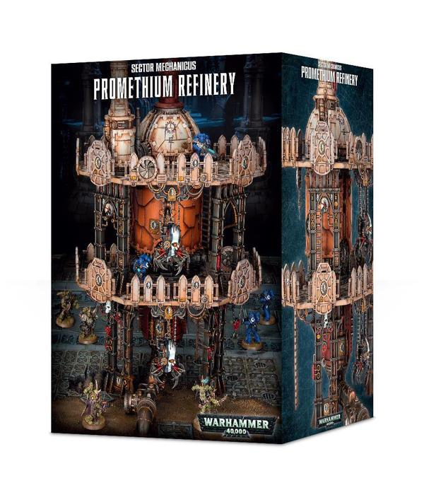 40K TERRAIN PROMETHIUM REFINERY (Additional S&H Fee Applies) DHC