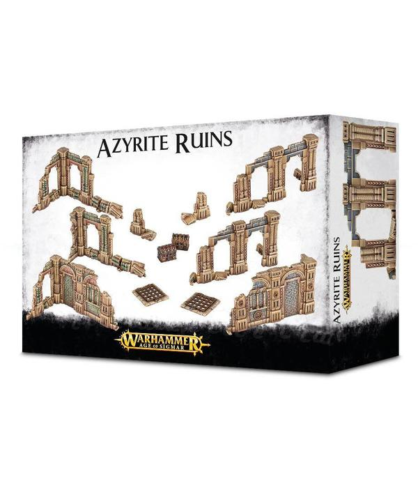 AGE OF SIGMAR TERRAIN AZYRITE RUINS DHC
