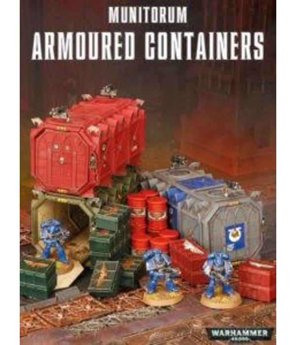 40K TERRAIN MUNITORIUM ARMOURED CONTAINERS DHC