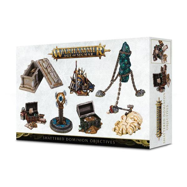 AGE OF SIGMAR SHATTERED DOMINION OBJECTIVES