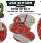 SECTOR IMPERIALIS 60MM RD+75/90MM OVAL BASES DHC