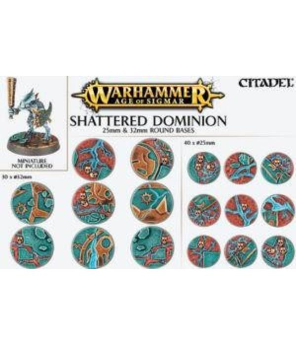 AOS SHATTERED DOMINION 25MM & 32MM ROUND