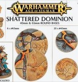 AOS SHATTERED DOMINION 65 & 40MM ROUND DHC