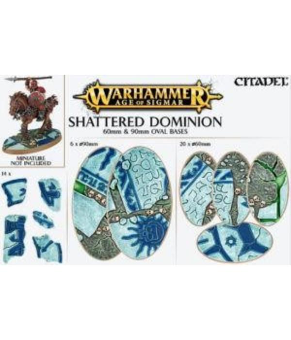 AOS SHATTERED DOMINION 60 & 90MM OVAL