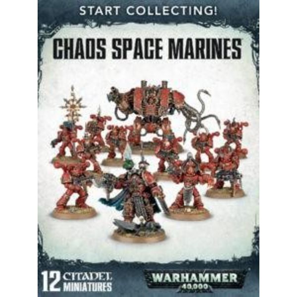 START COLLECTING! CHAOS SPACE MARINES DHC