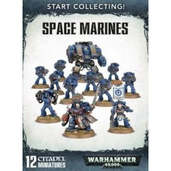 START COLLECTING! SPACE MARINES DHC